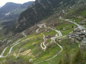 the best road riding in the alps
