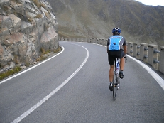 supported road riding in europe