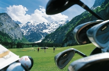 swiss mountain golf courses