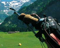 golf clubs in swiss mountains