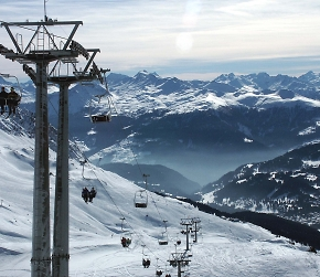 ski lifts in lenzerheide switzerland