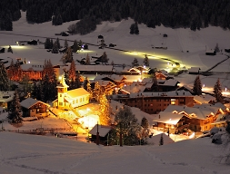 diablerets nightlife village views