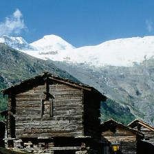 summer stadels and skiing in switzerland