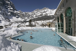 thermal baths in leukerbad